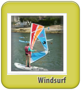 Windsurfing camp in Spain