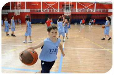 Basketball camp for kids in Spain