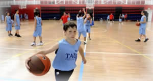 Basketball Camps for kids Vitoria Spain