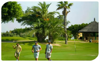Golf Summer camp in Alicante Spain