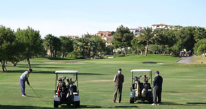 Spanish and golf in Costa Blanca Spain