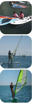 Windsurfing lessons in Spain for Junior