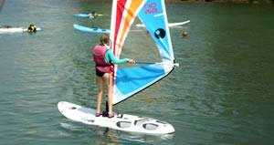 Spanish and windsurfing course in Spain
