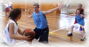 International Basketball Camp Vitoria Spain