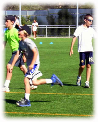 Multi sports summer camp for children in Spain