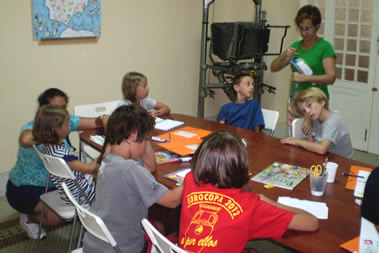 Spanish courses for children in Spain